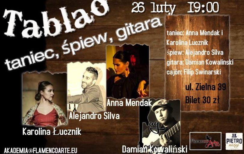 Tablao Flamenco Alejandro Silva, Karolina Łucznik, Anna Mendak